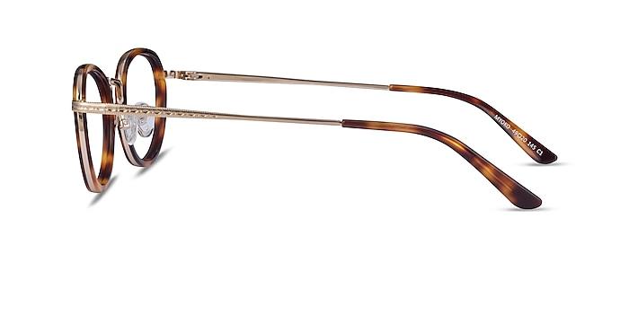 Myoko Tortoise Gold Acetate Eyeglass Frames from EyeBuyDirect