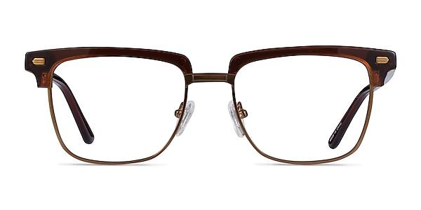 Murakami Clear Brown Bronze Acétate Montures de lunettes de vue