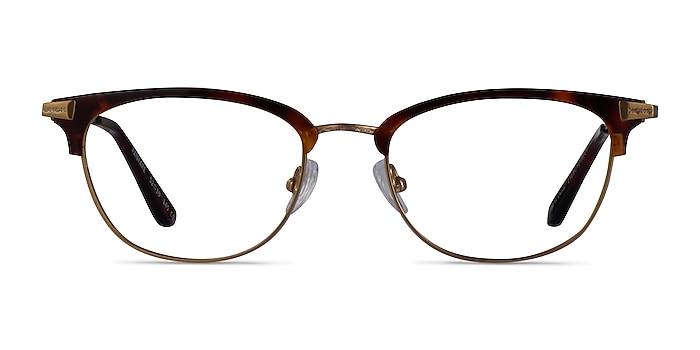 Fanfare Tortoise Bronze Acetate Eyeglass Frames from EyeBuyDirect