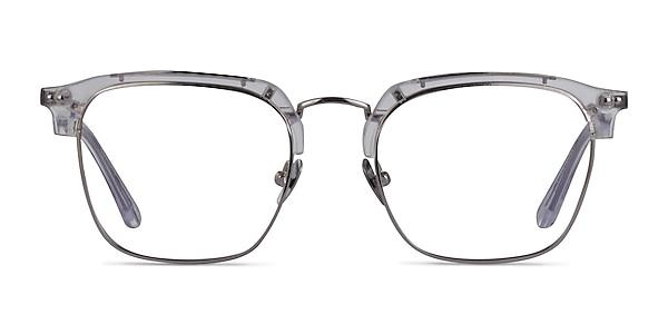 Concerto Clear Silver Acetate Eyeglass Frames