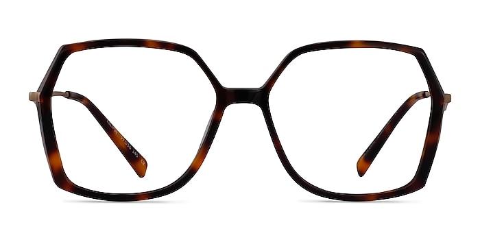 Ellipse Tortoise Acetate Eyeglass Frames from EyeBuyDirect