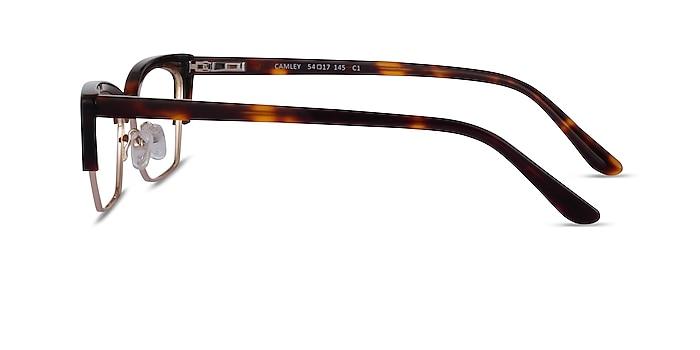 Camley Tortoise Gold Acetate Eyeglass Frames from EyeBuyDirect