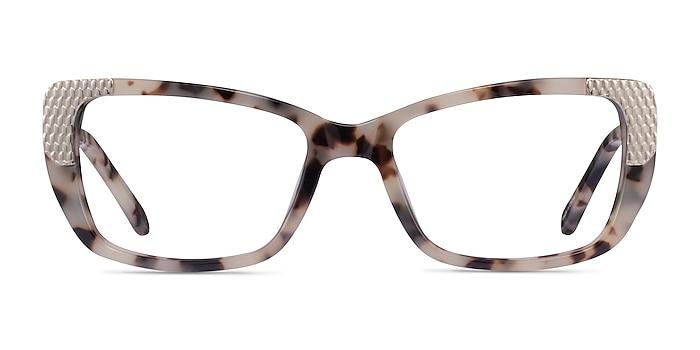 Gilded Ivory Tortoise Silver Acetate Eyeglass Frames from EyeBuyDirect