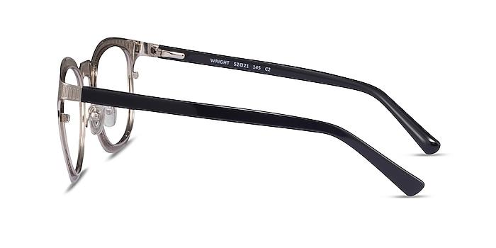 Wright Silver Acetate Eyeglass Frames from EyeBuyDirect