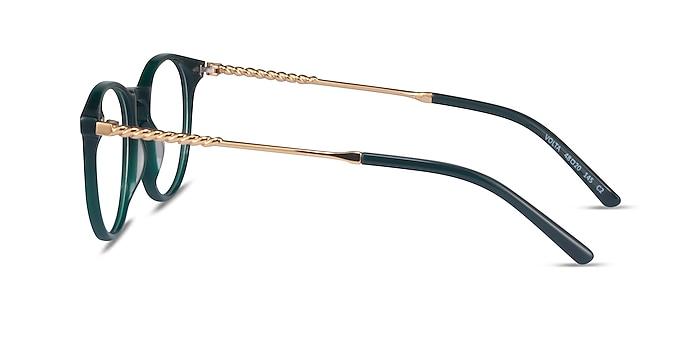 Volta Dark Green Acetate Eyeglass Frames from EyeBuyDirect