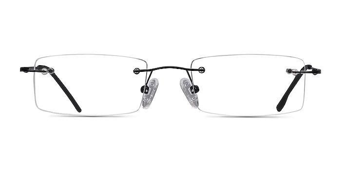 Billings Black Metal Eyeglass Frames from EyeBuyDirect