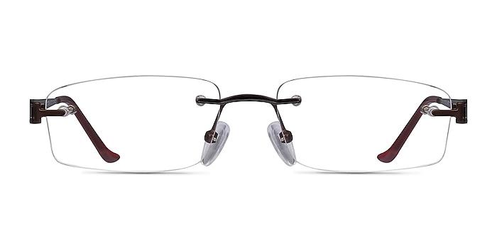 Ottawa Marron Métal Montures de lunettes de vue d'EyeBuyDirect