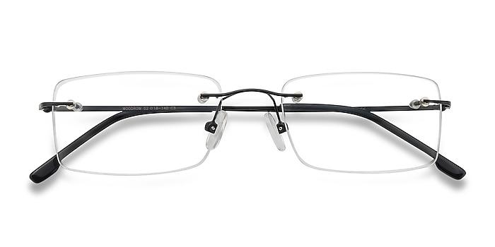 Black Woodrow -  Classic Metal Eyeglasses