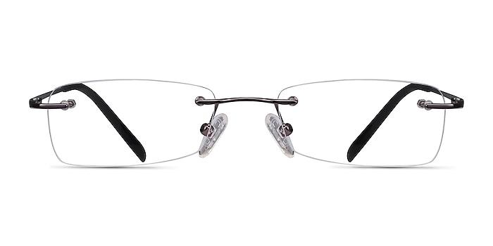 South  Gunmetal  Metal Eyeglass Frames from EyeBuyDirect