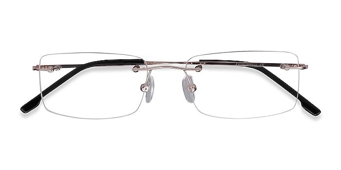 Golden  Woodrow -  Lightweight Metal Eyeglasses