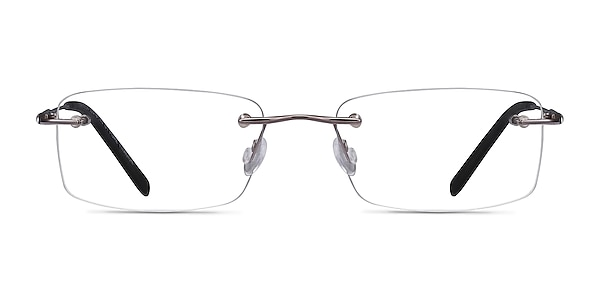 Dimension Gunmetal Titanium Eyeglass Frames