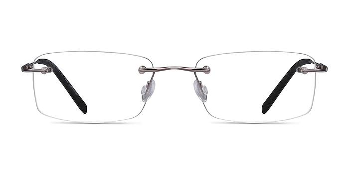 Dimension Gunmetal Titanium Eyeglass Frames from EyeBuyDirect
