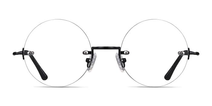 Palo Alto Noir Métal Montures de lunettes de vue d'EyeBuyDirect
