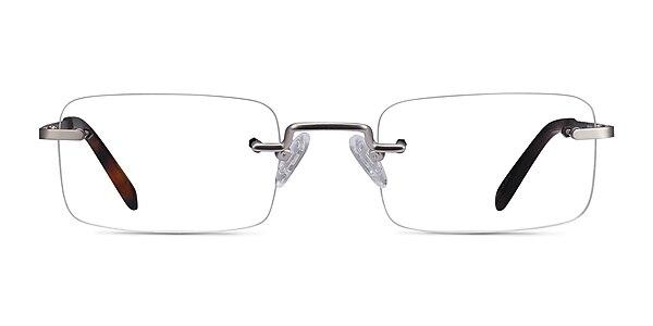 Simplicity Argenté Métal Montures de lunettes de vue