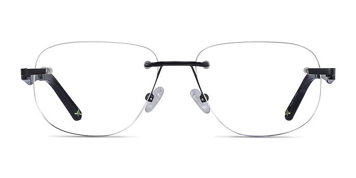 Reactor Noir Métal Montures de lunettes de vue d'EyeBuyDirect