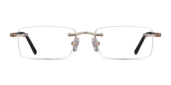 Percy Light Golden Metal Eyeglass Frames