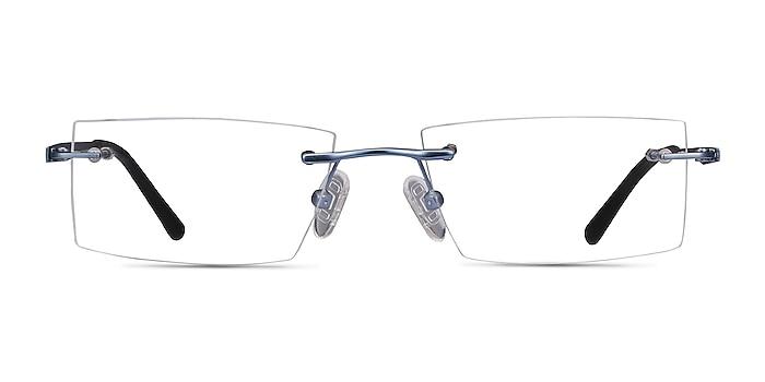 Primo Bleu Métal Montures de lunettes de vue d'EyeBuyDirect