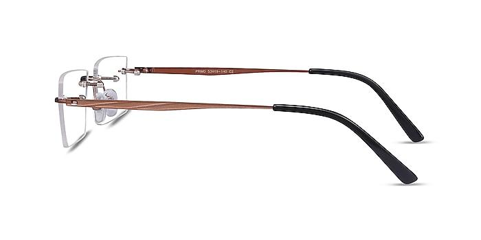 Primo Coffee Metal Eyeglass Frames from EyeBuyDirect