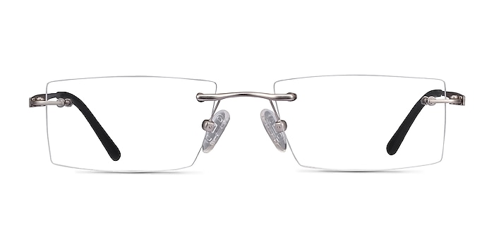 Primo Silver Metal Eyeglass Frames from EyeBuyDirect