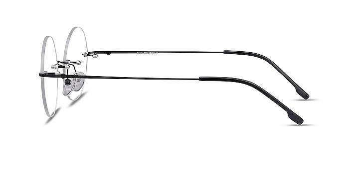 Altus Black Metal Eyeglass Frames from EyeBuyDirect