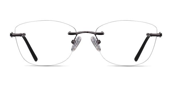 Vince Gunmetal Metal Eyeglass Frames