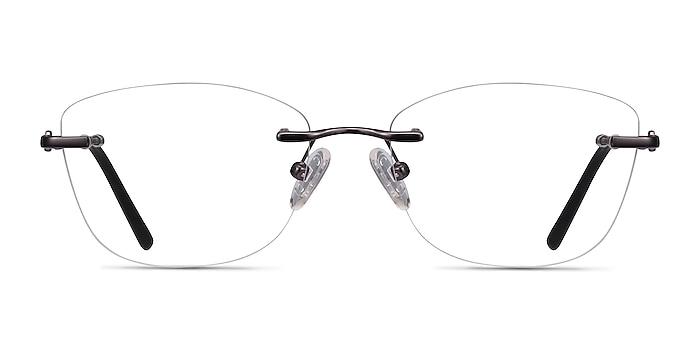 Vince Gunmetal Métal Montures de lunettes de vue d'EyeBuyDirect