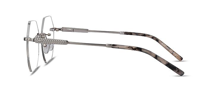 Glas Argenté Métal Montures de lunettes de vue d'EyeBuyDirect