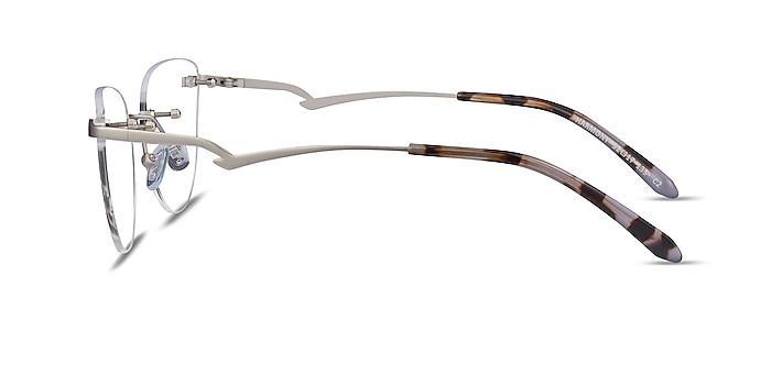 Harmony Matte Gunmetal Metal Eyeglass Frames from EyeBuyDirect