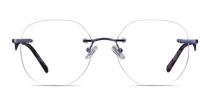 Belle Violet Métal Montures de lunettes de vue d'EyeBuyDirect