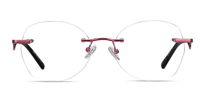 Ajar Raspberry Métal Montures de lunettes de vue d'EyeBuyDirect