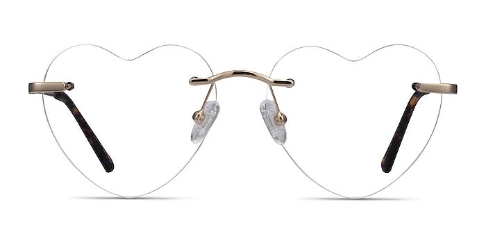 Amore Doré Métal Montures de lunettes de vue d'EyeBuyDirect
