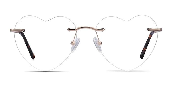Bae Doré Métal Montures de lunettes de vue d'EyeBuyDirect