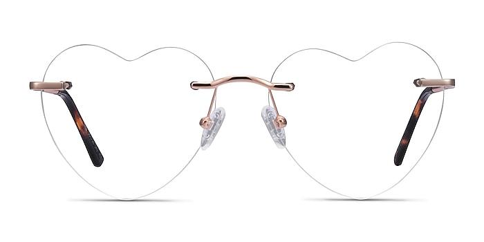 Bae Rose Gold Métal Montures de lunettes de vue d'EyeBuyDirect
