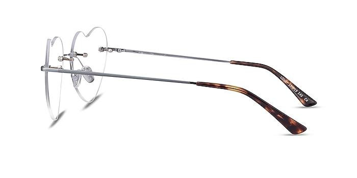 Love Silver Metal Eyeglass Frames from EyeBuyDirect