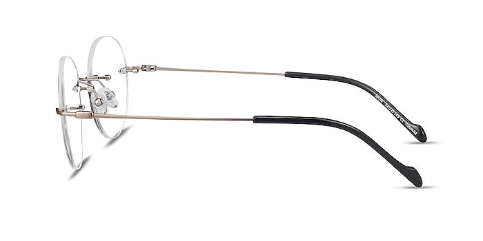 Shine Gold Titanium Eyeglass Frames from EyeBuyDirect