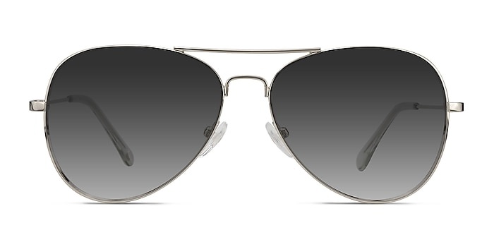 Good Vibrations Silver Metal Sunglass Frames from EyeBuyDirect