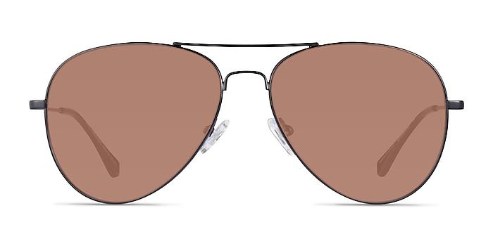 Good Vibrations Black Metal Sunglass Frames from EyeBuyDirect