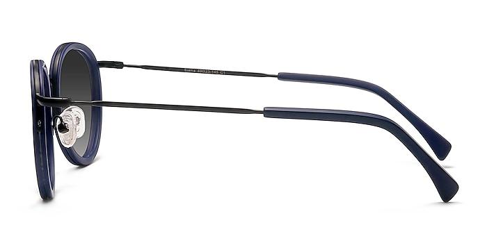 Siena Matte Navy Acetate-metal Sunglass Frames from EyeBuyDirect