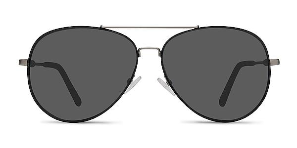 Camp  Black Silver  Metal Sunglass Frames