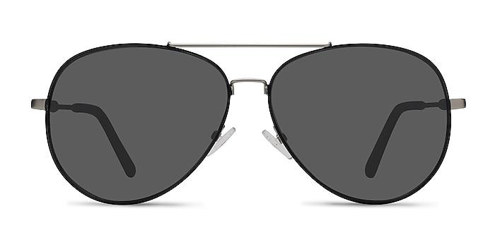 Camp  Black Silver  Metal Sunglass Frames from EyeBuyDirect