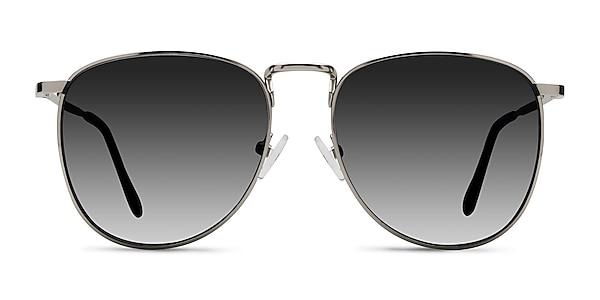 Fume Silver Metal Sunglass Frames