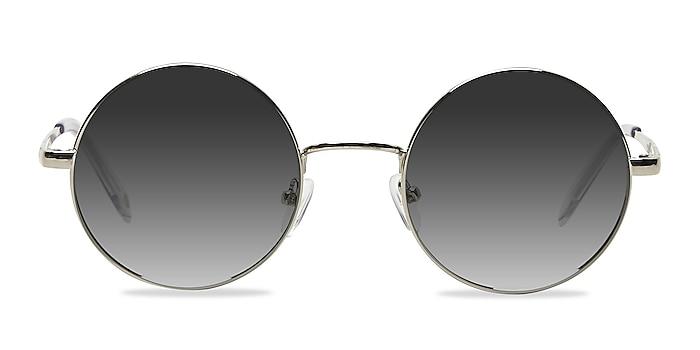 Guru Silver Metal Sunglass Frames from EyeBuyDirect