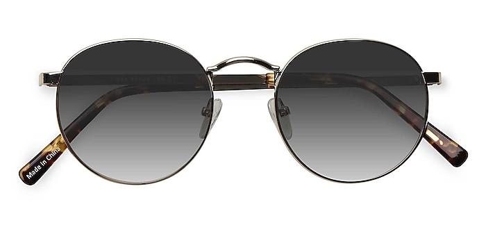 Golden Rex -  Metal Sunglasses