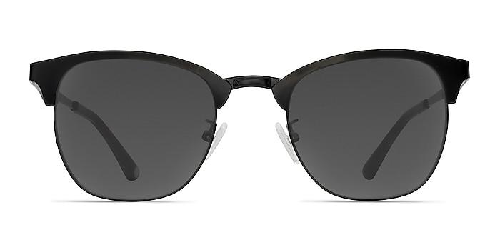 Veil Black Metal Sunglass Frames from EyeBuyDirect