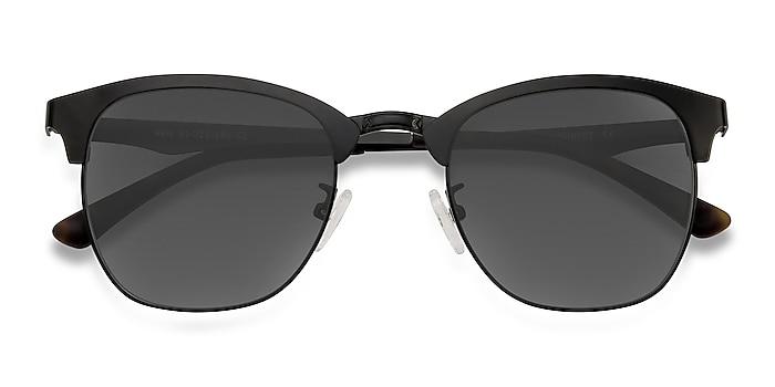 Black Veil -  Vintage Metal Sunglasses