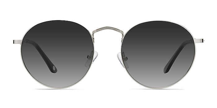 Disclosure Silver Metal Sunglass Frames from EyeBuyDirect