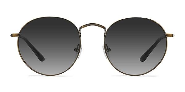 Disclosure Brown Metal Sunglass Frames