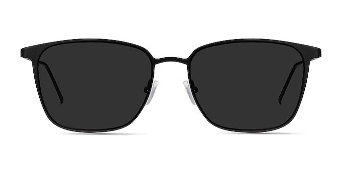 Jolt Black Metal Sunglass Frames from EyeBuyDirect