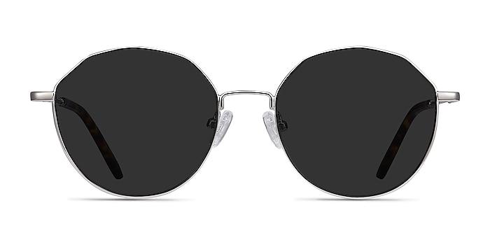 Village Silver Metal Sunglass Frames from EyeBuyDirect