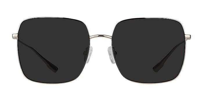 Bora Bora Golden Metal Sunglass Frames from EyeBuyDirect